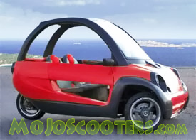 RTM Tango 190cc Three Wheeler Car