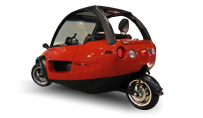 TANGO 3 Wheel Scooter Car FERRARI RED